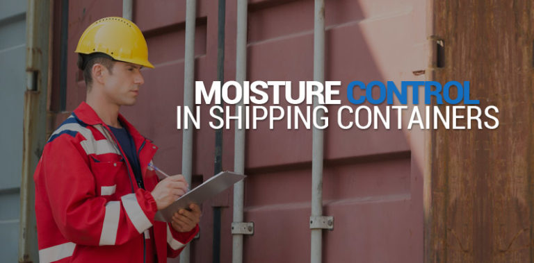 Moisture Control In Shipping Containers, Pro-Ex Au Cargo Desiccant