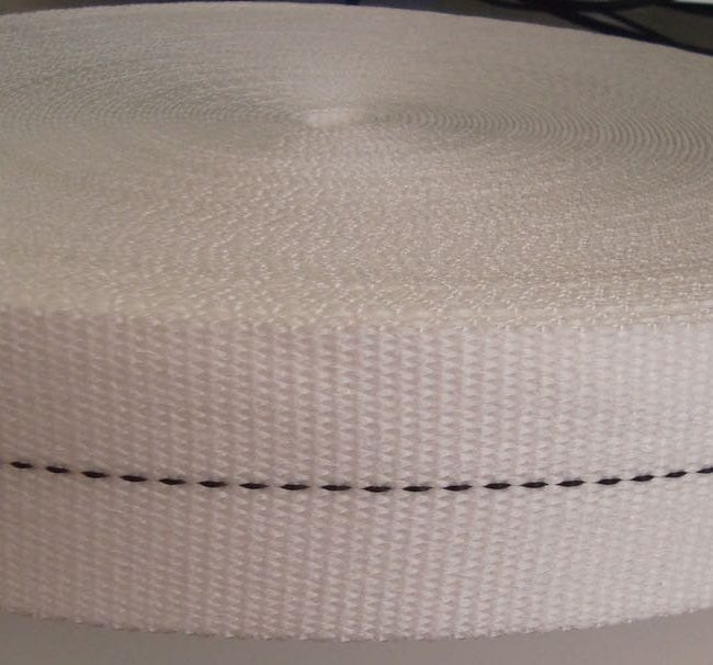 Durable White 50mm Removalist Webbing