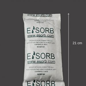 Pharmaceutical desiccants, Clay Desiccant Esorb MT 8 unit (264g) - 60/ctn