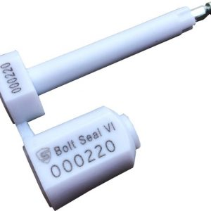 Security Bolt Seal VI White, Container Bolt Seal