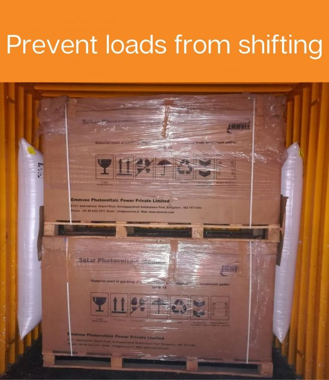 Prevent loads from shifting