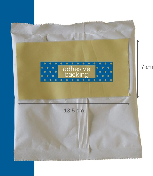 Absorgel Pouch 125 with adhesive backing