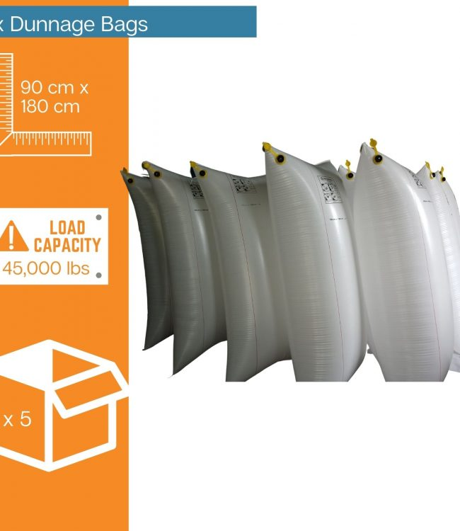 5 x Dunnage Bags - Protection Experts Australia