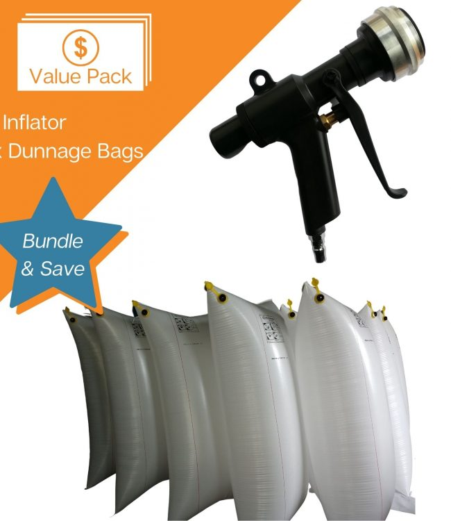 Value Pack - Dunnage Bags and Inflator